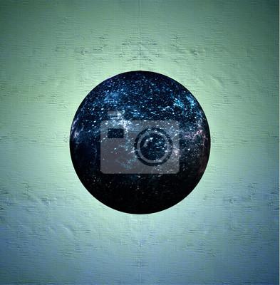 Fototapet sfärisk universum