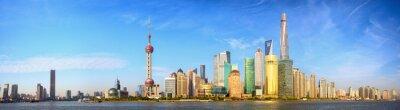 Fototapet Shanghai horisont panorama, Kina