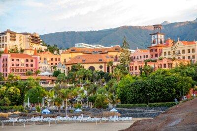 Fototapet Sityscape syn på Los Cristianos resort