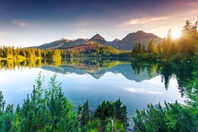Fototapet sjö