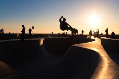 Fototapet skateboard