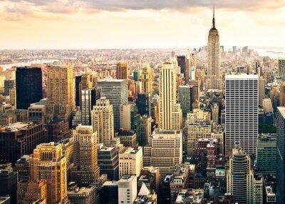 Fototapet Skyline i New York