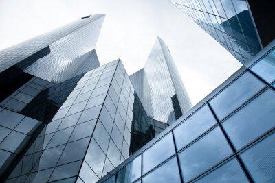 Fototapet Skyskrapor - Banker