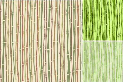 Fototapet smidig konsistens med bambu stjälkar
