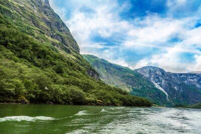 Fototapet Sognefjorden i Norge