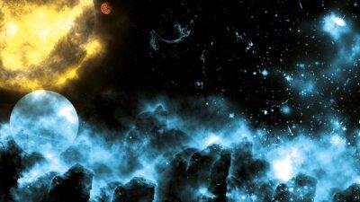 Fototapet Sol / Galaxy Spacefog