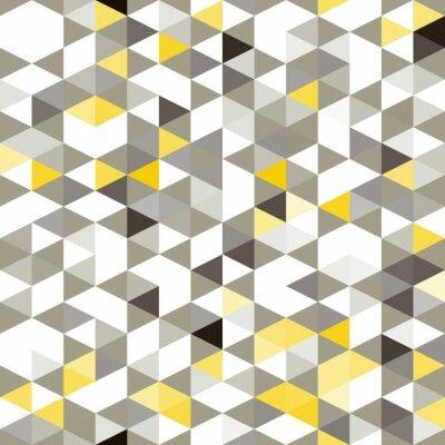 Fototapet sömlös bakgrund med abstrakta geometriska former