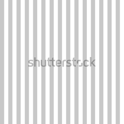 Fototapet Sömlös grå och vita färger i mönsterband. Abstrakt bakgrundsvektor för vertikal modell.