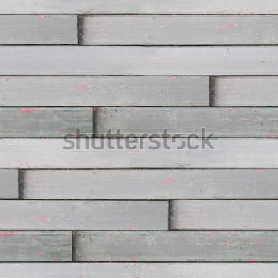 Fototapet Sömlös målad trästruktur