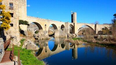 Fototapet Spanien - Besalú