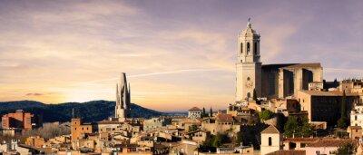 Fototapet Spanien - Girona
