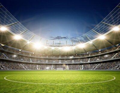 Fototapet Stadium Neutral centrum
