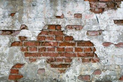 Fototapet Stara cegła - ściana, mur