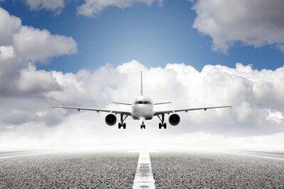 Fototapet start plan flygplats