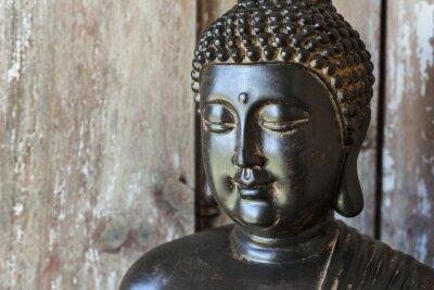 Fototapet staty Bouddha