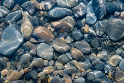 Fototapet Stenar under vatten.