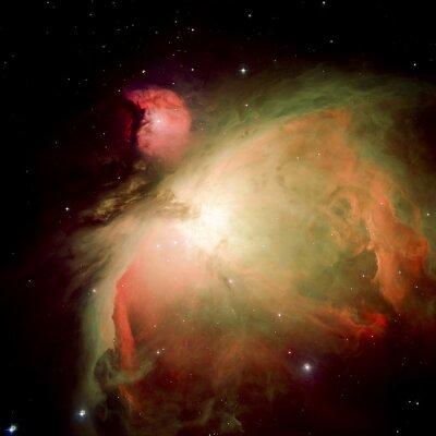 Fototapet Stjärnor nebula i rymden. Delar av denna bild som tillhandahålls av NASA