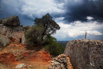 Fototapet Storm, Great Zimbabwe