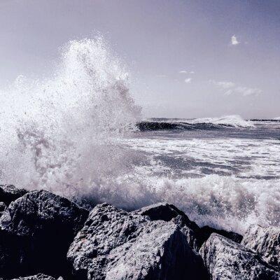 Fototapet storm i Marbella