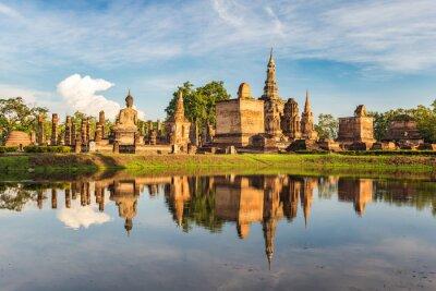 Fototapet Sukothai historiska Park, Thailand