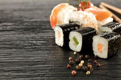 Fototapet sushi