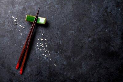 Fototapet sushi pinnar