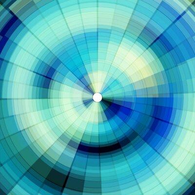 Fototapet svala blå digital bakgrund