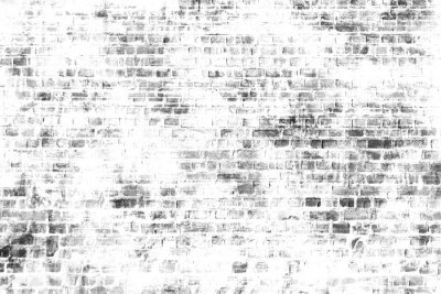 Fototapet Svart och vitt väggmålning konst, inspirera bakgrundsbild.