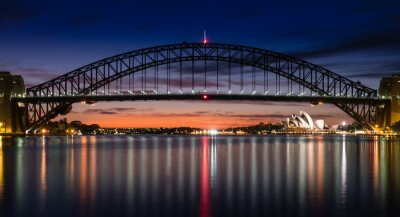 Fototapet Sydney Harbour at Dawn
