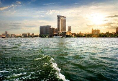 Fototapet Syn på Kairo