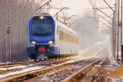 Fototapet Tåg
