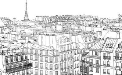 Fototapet tak i Paris