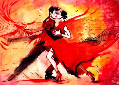 Fototapet tango