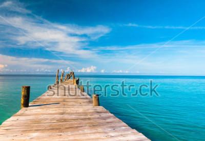 Fototapet Tänk på havet Living är lätt