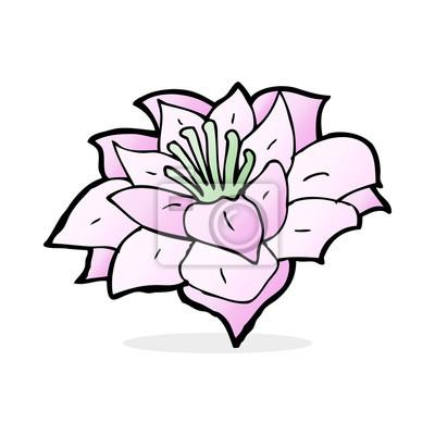 blomma tecknad