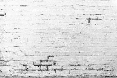 Fototapet Tegel konsistens med repor och sprickor