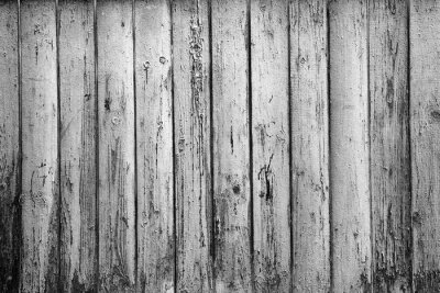 Fototapet texturerad bakgrund av gamla skivor. Svartvit fotografi