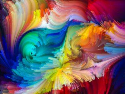 Fototapet The Living Color