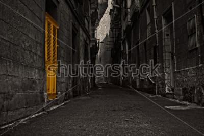 Fototapet The Yellow Door