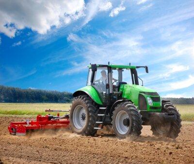 Fototapet Traktor