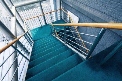 Fototapet trappor i byggnader