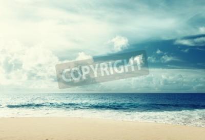 Fototapet tropisk strand