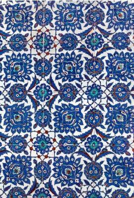 Fototapet Turkiska keramiska plattor, Istanbul