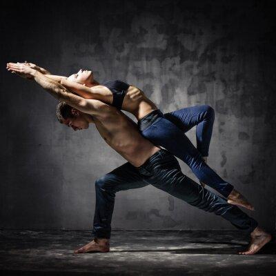 Fototapet två dansare