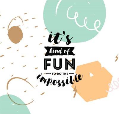 Fototapet Typografi för affisch, inbjudan, gratulationskort eller t-shirt.