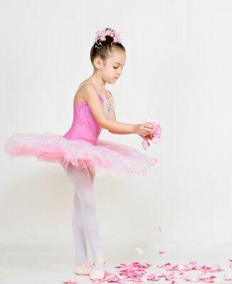 Fototapet ung ballerina