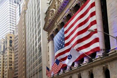 Fototapet USA flagga