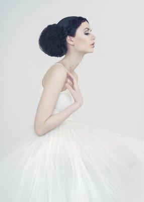 Fototapet vacker ballerina