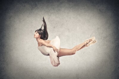 Fototapet vacker dansare