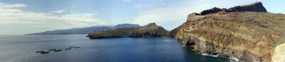 Fototapet Vandra på Ponta de Lourenco Peninsula
